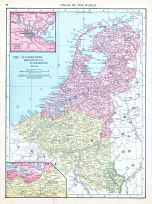 The Netherlands, Belgium and Luxemburg, World Atlas 1913